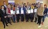 Gästeführer in der Großregion bei der Übergabe des BVGD-Zertifikats DIN EN im März 2014 im  Wirtschaftsministerium in Saarbrücken