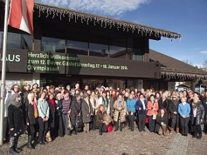 12. Bayerischer Gästeführertag in Garmisch-Partenkirchen 2014 (Foto: G. Reichlmayr)