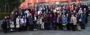 Die Teilnehmer des 6. Brandenburger Gästeführertreffens 2015 in Bad Saarow