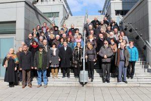 Die Teilnehmer des 6. Gästeführertags Sachsen-Anhalt in Magdeburg 2016 (Foto: LTV Sachsen-Anhalt)