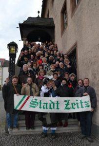 Die Teilnehmer des 11. Mitteldeutschen Gästeführertreffen in Zeitz im März 2016 (Foto: Th. Zagefka, Presse- und Öffentlichkeitsarbeit der Stadt Zeitz)