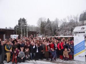 Teilnehmer des Bayer. Gästeführertages 2015 in Landsberg / Lech