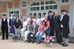 Die Gästeführer des BVGD-Mitgliedvereins Worpswede/Teufelsmoor e. V. laden ein zur Auftaktveranstaltung des Weltgästeführertags 2016 (Foto: Iris Uphoff)