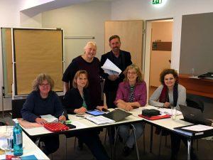 Die Mitglieder der KBB auf einer Sitzung (April 2019) in Hamburg (Bild by BVGD | KBB)