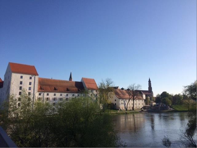 Herzogsschloss an der Donau in Straubing - Tagungsort BVGD Gästeführertag/Mitgliederversammlung 2020